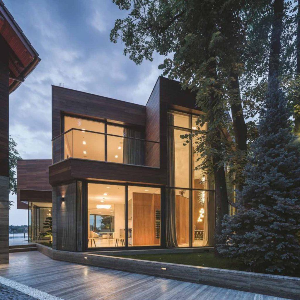 New build project utilising Raum aluminium windows and doors