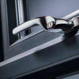 Deceuninck window security lock
