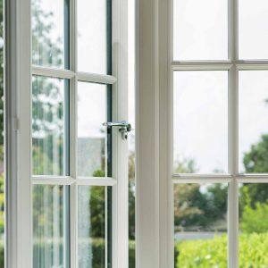Highly secure uPVC windows