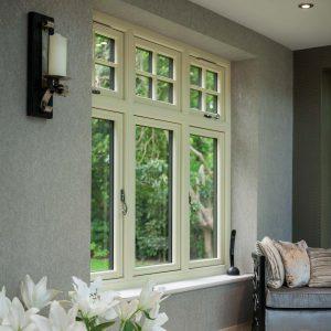 Traditional flush sash window