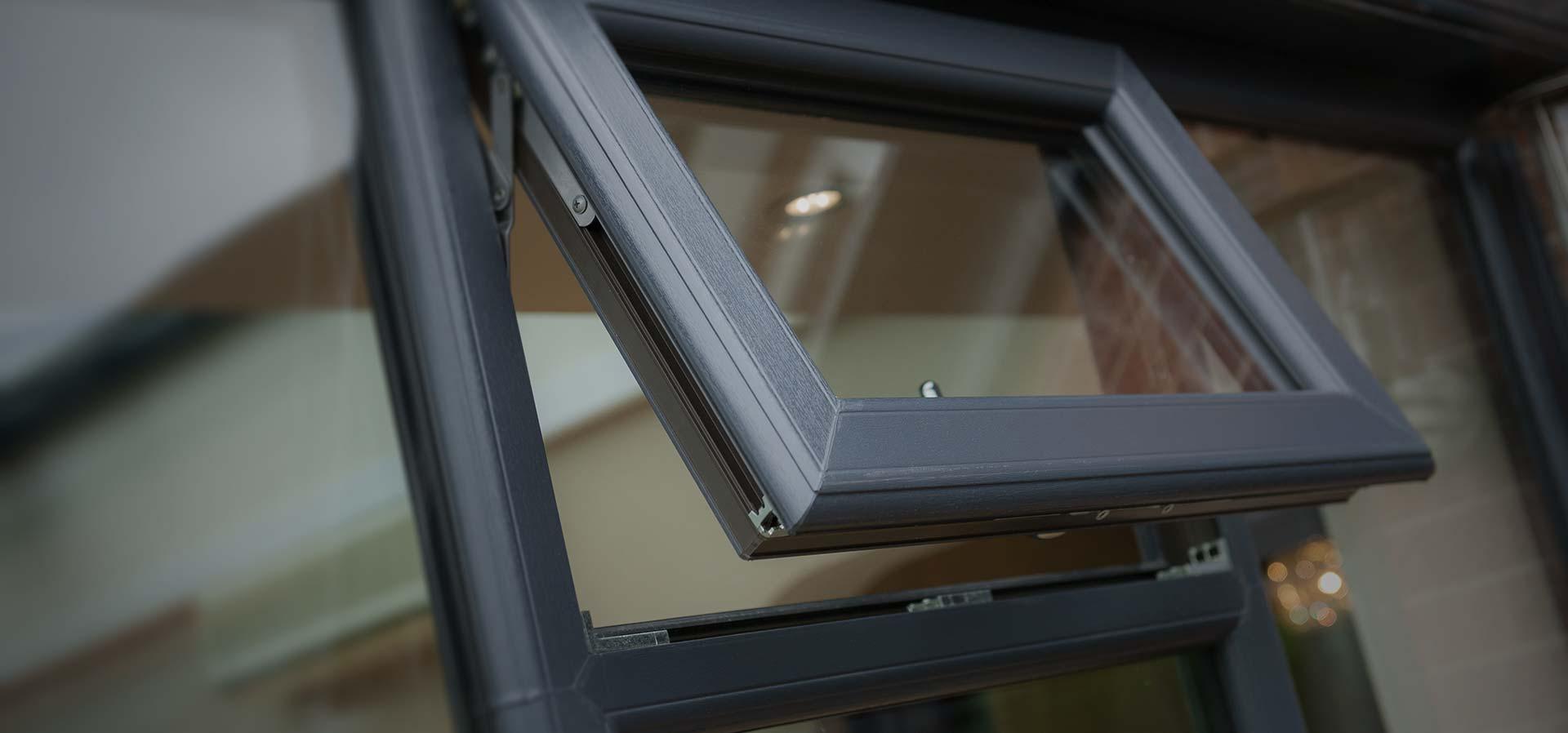 uPVC window manufactured using Decuenincks decorative 2800 profile