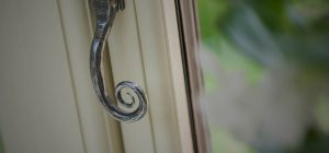 Residence 9 upvc window with monkey tail handle