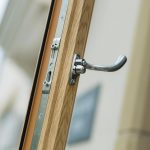 Quality uPVC flush sash window