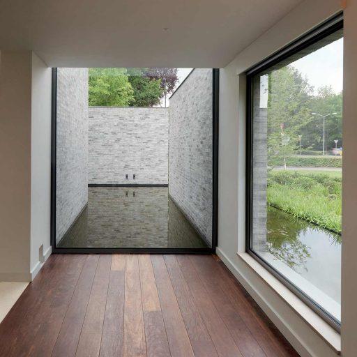 Wide span RAUM aluminium window