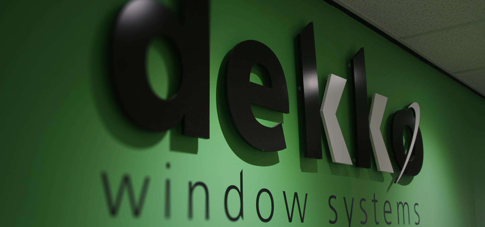 Dekko windows trade counter in Swindon