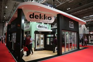 Dekko booth at FIT show 2017