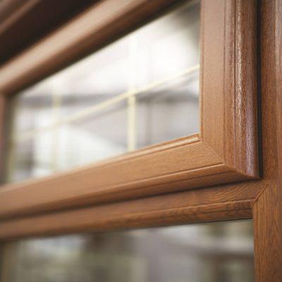 Close up Deceuninck 2800 PVCu window