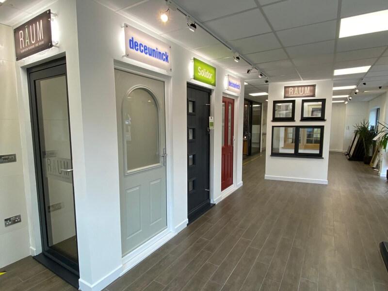 Signature showroom Raum Deceuninck Solidor
